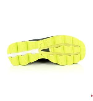 ON RUNNING - Laufschuhe Cloudsurfer, Dunkelgrün und Gelb