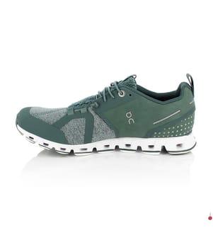 ON RUNNING - Laufschuhe Cloud Terry, Grün und Seegrün