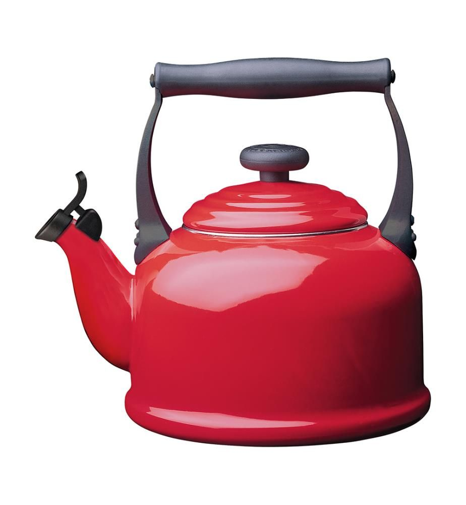 LE CREUSET - Kettle tradition - red