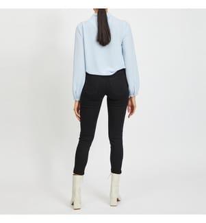 VILA CLOTHES - Jeans Viskinnie - Schwarz
