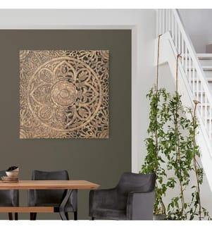 Wanddekoration Marco - Braun