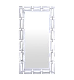 Spiegel 120 x 60 cm - Weiss