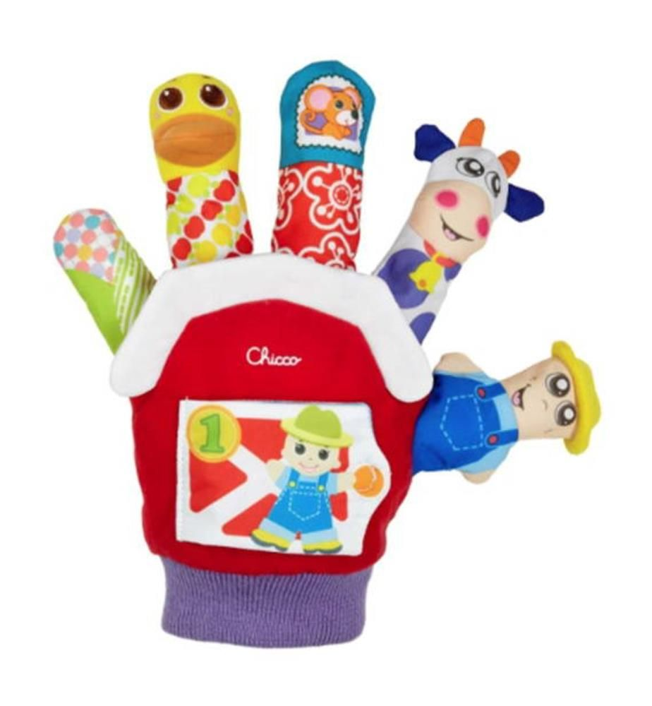 CHICCO - Marionetten-Handschuh 3/24M - Multicolor