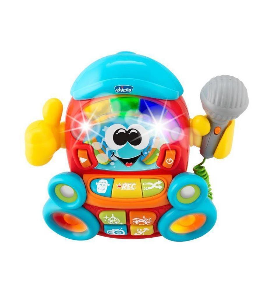 CHICCO - Musikspielzeug DJ Karaoke 3/6Y - Multicolor