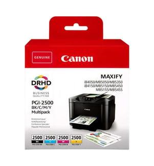 CANON - Tintenpatrone-Multipack PGI-2500, CMYK