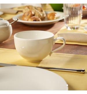 VILLEROY & BOCH - 6er-Set Frühstückstassen ohne Untertassen New Cottage Basic, 0.39l