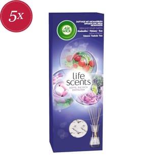 AIR WICK - 5er-Set Duftspender Life Scents Verwunschener Garten - 5 x 30 ml