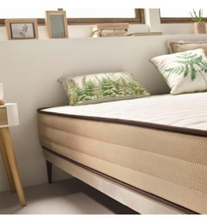 MOONIA - Matratze Bamboo Care - 120 x 200 cm
