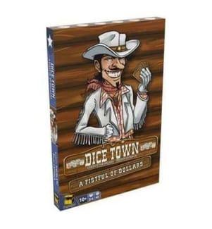 Dice Town Pour Une Poignee De Cartes - Französische Version