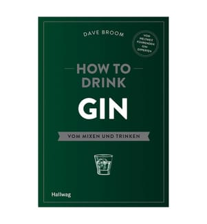 How to Drink Gin - Hallwag