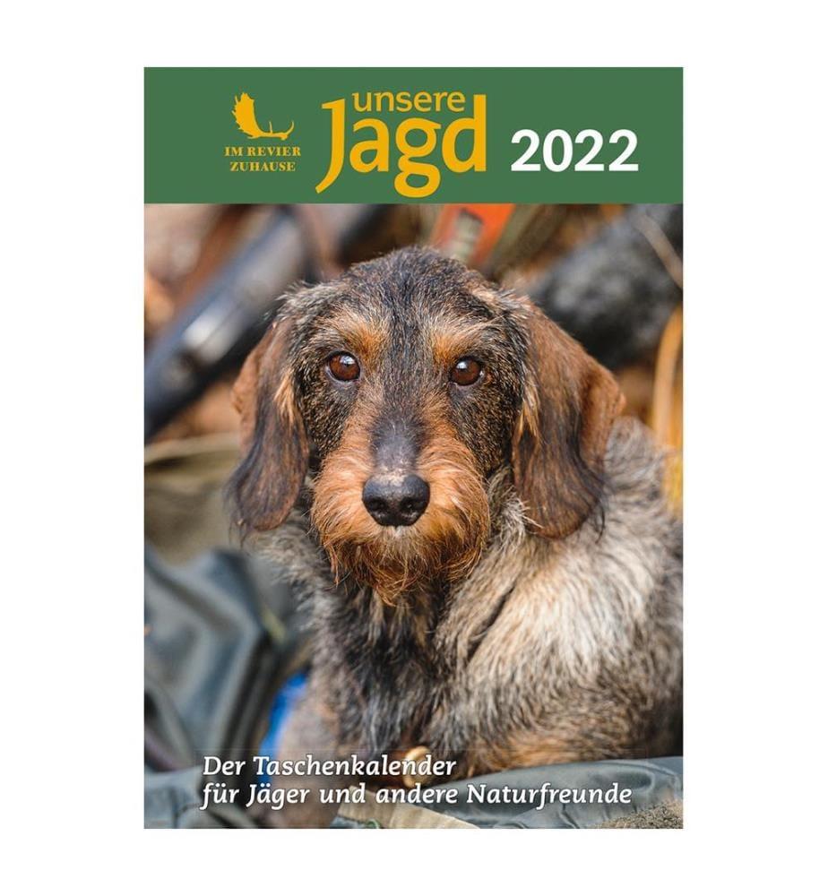 Taschenkalender UNSERE JAGD 2022