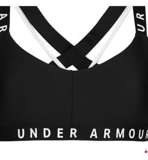 UNDER ARMOUR - Sporttop UA Wordmark Strappy - Schwarz
