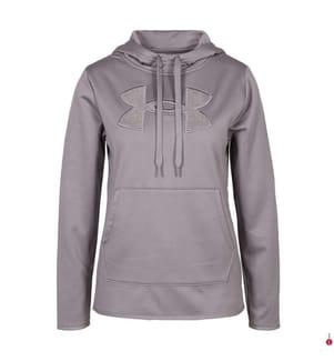 UNDER ARMOUR - Hoodie Armour Fleece® Big Logo Shine - Hellviolett