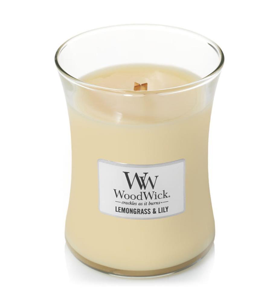 WOODWICK - Lemongrass & Lily - 275 gr