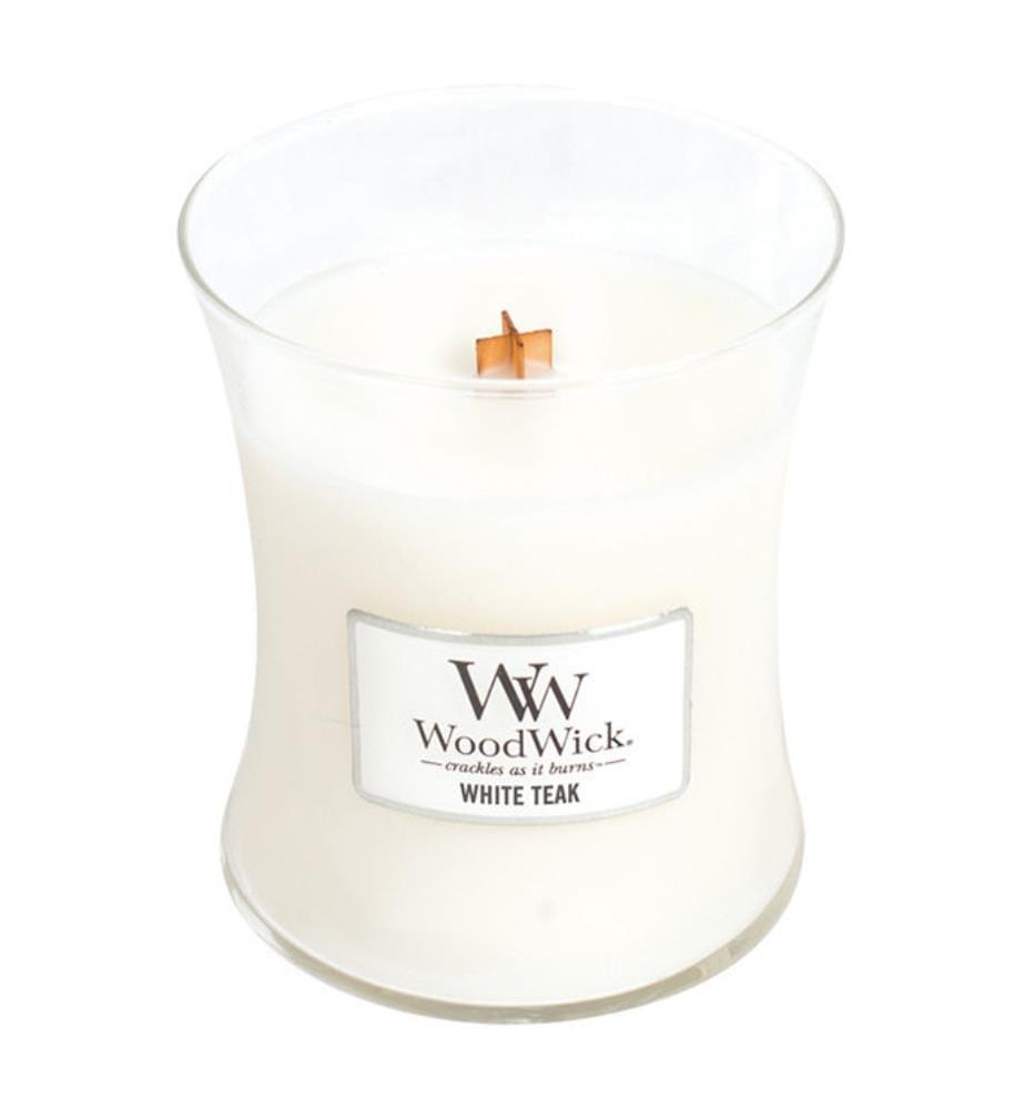 WOODWICK - White Teak - 275 gr