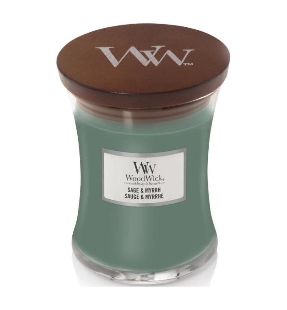WOODWICK - Sage & Myrrh - 275 gr
