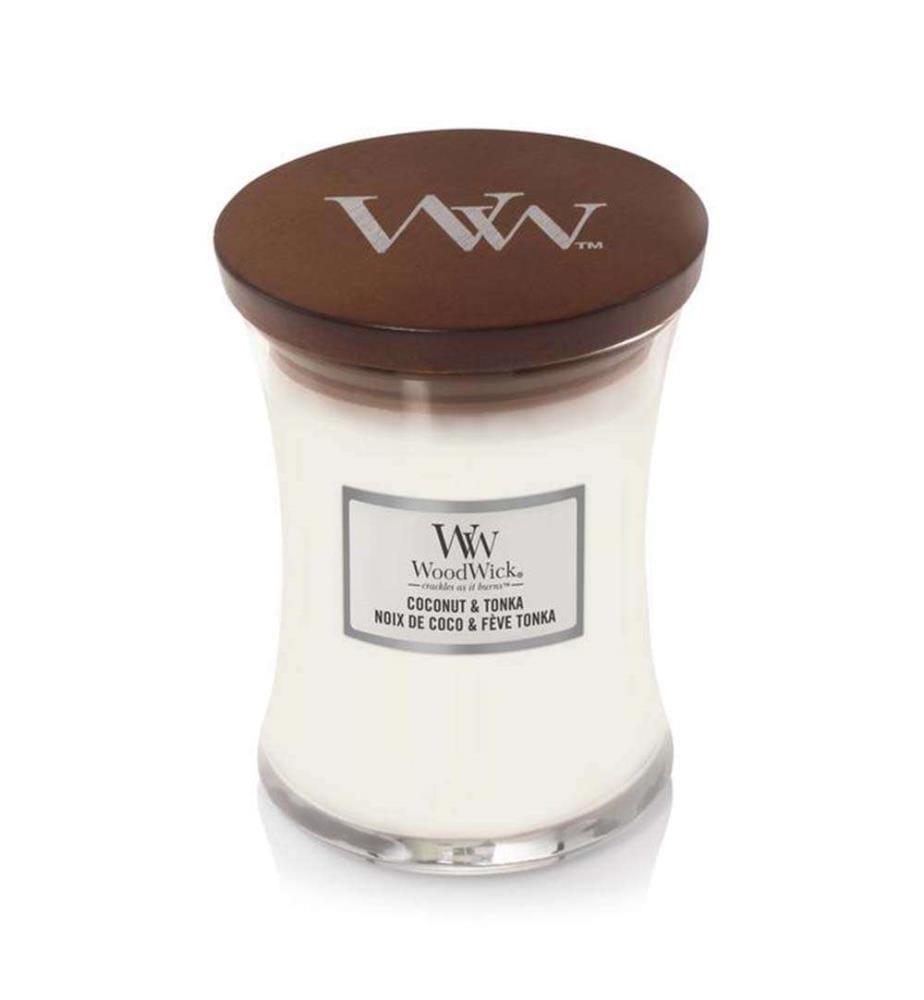 WOODWICK - Coconut & Tonka - 275 gr