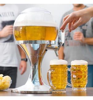 Gekühlter Getränkespender - Silber Und Transparent