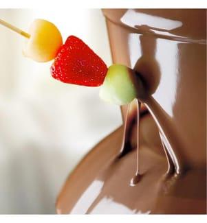 Elektro-Schokoladenfondue