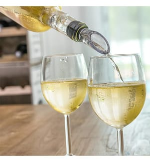 Weinkühler Mit Belüfter - Transparent