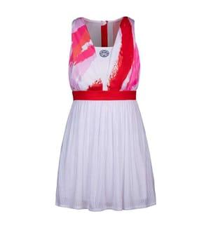 Ankea Kleid (2 in 1) - Weiss, Rot