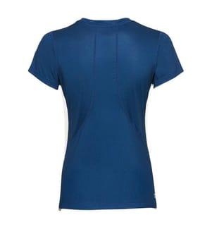 Eve T-Shirt mit Rundhalsausschnitt - Dunkelblau