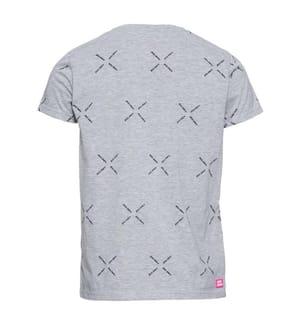 Aleko T-Shirt - Hellgrau