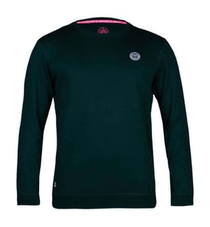Langärmeliges Basic-T-Shirt Chaka - Dunkelgrün