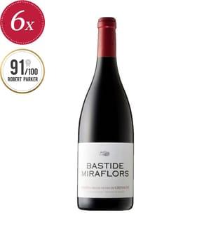 6x Bastide Miraflors Côtes du Roussillon AOP 2018