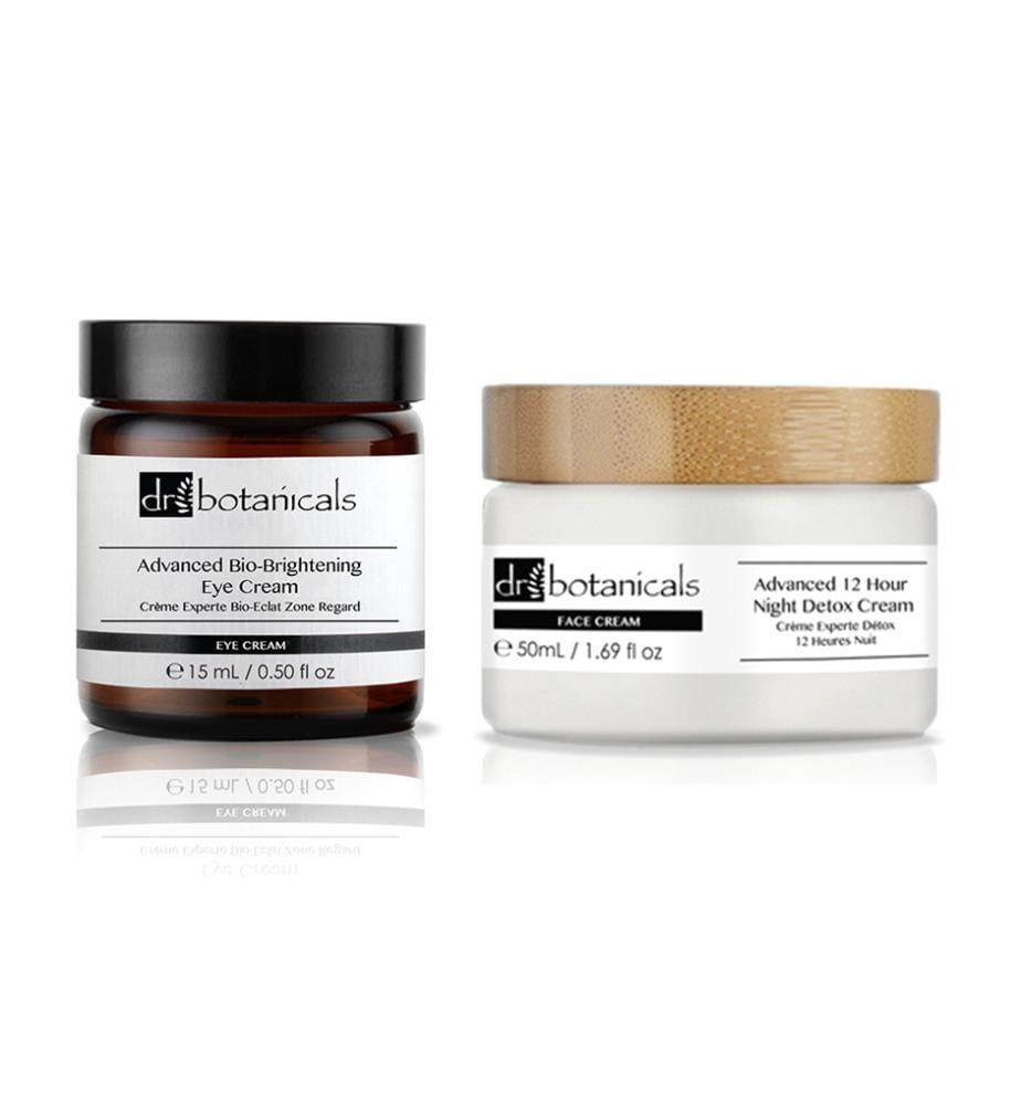 Nachtcreme & Augenkontur-Creme K2 Advanced 12 Hour Night Detox  - 50 + 15 ml