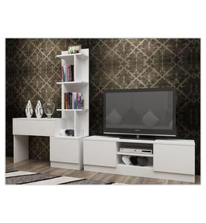TV-Möbel Team - Weiss
