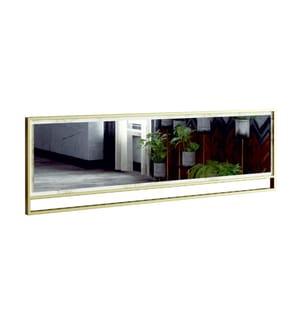 Spiegel Polka 2 - Weiss und Gold