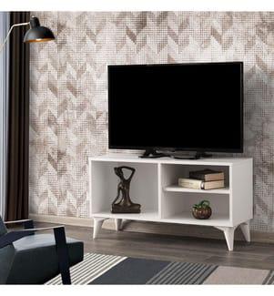 TV-Möbel Zisino - Weiss