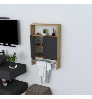 Badezimmermöbel Ela - Anthrazit