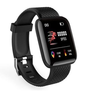 INKASUS - Multisports Smartwatch, Viva Edition, Schwarz