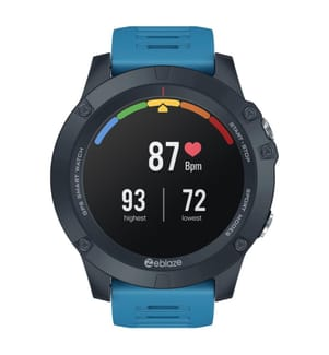 INKASUS - GPS-Smartwatch, V3 Edition, Blau