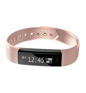 INKASUS - Sport-Fitness Smart-Armband, Fitness Edition V2, Pink