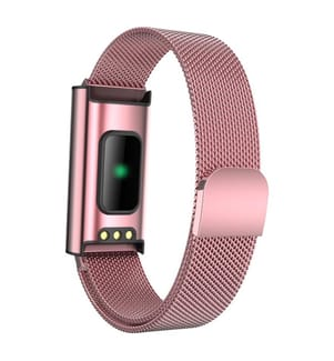 INKASUS - Fitness Smart-Armband, Prestige Edition, Rosa