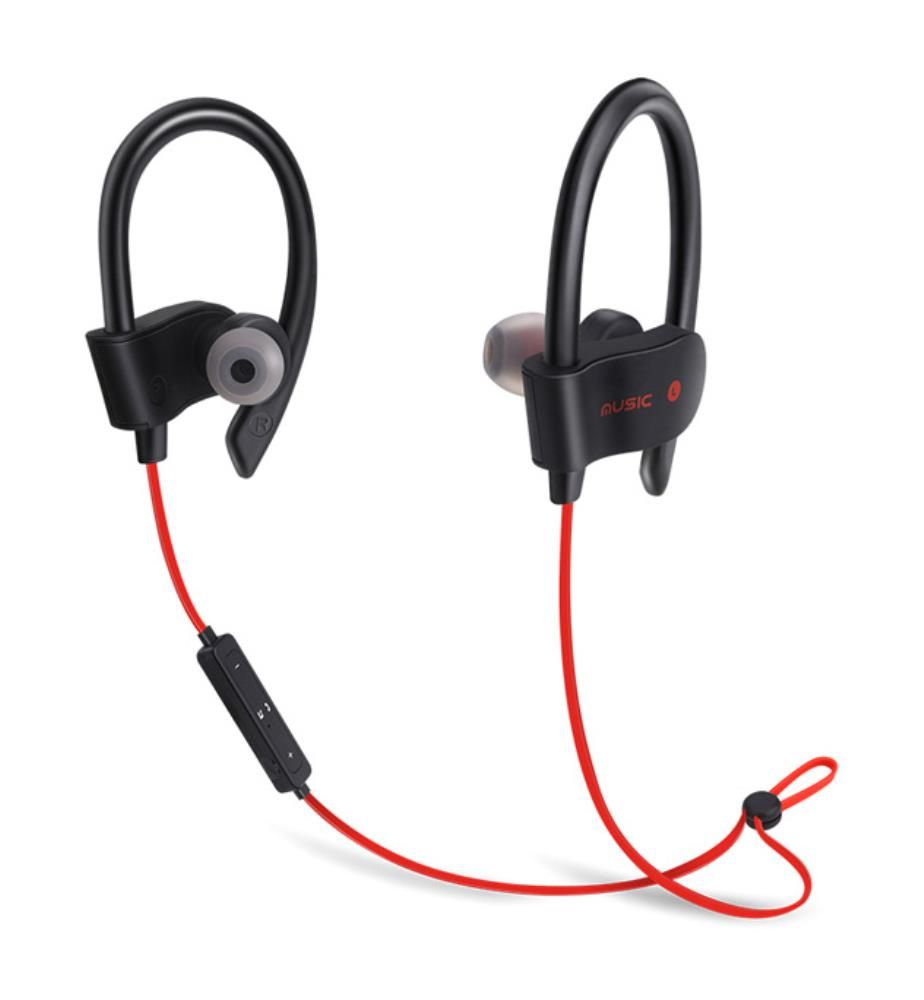INKASUS - Bluetooth-Kopfhörer 4.1 Sport, Rot