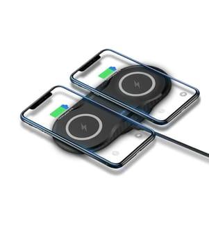 INKASUS - Induktionsladegerät mit zwei Empfängern