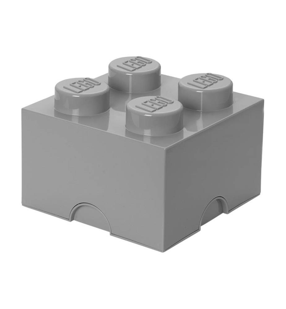 LEGO - Baustein-Aufbewahrungsbox 4 DIF - Grau