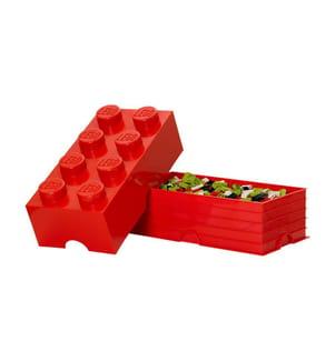LEGO - Baustein-Aufbewahrungsbox 8 - Rot
