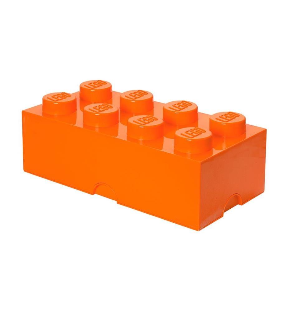 LEGO - Baustein-Aufbewahrungsbox 8 - Orange