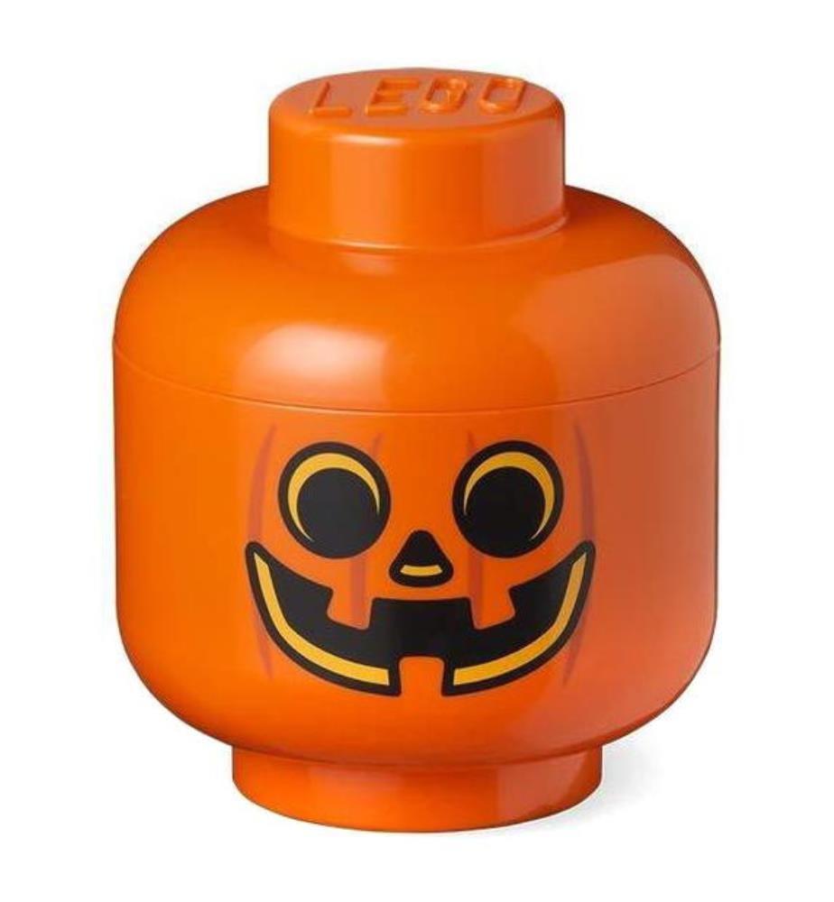 LEGO - Baustein-Aufbewahrungsbox Pumpkin Small - Orange