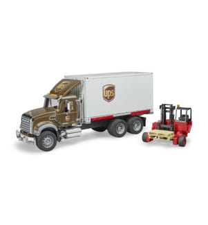 BRUDER - Mack Granite UPS Logistik-LKW - Lieferbar ab März 2018
