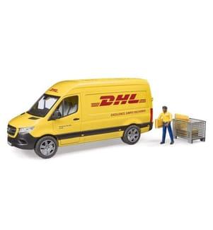 BRUDER - MB Sprinter DHL mit Fahrer