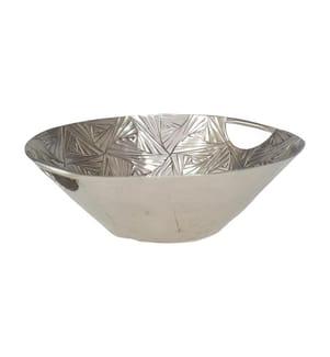 Runde Tasse 29x9cm Jaipur - Silber