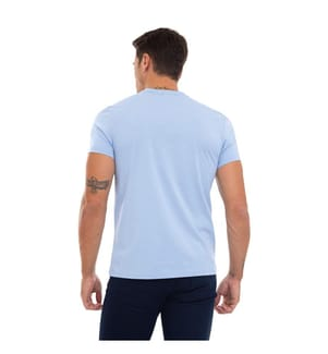 SIR RAYMOND TAILOR - T-Shirt Jan - Hellblau