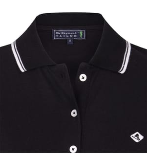 SIR RAYMOND TAILOR - Poloshirt - Schwarz