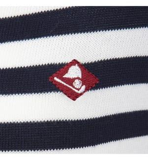 SIR RAYMOND TAILOR - Pullover Noa - Marinblau und Weiss